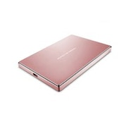 LaCie STFD2000406 2000GB Pink gold external hard drive