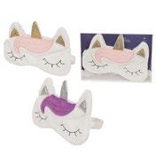 Cute Unicorn Handy Eye Mask (1 Random Supplied)