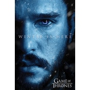 Game Of Thrones - Winter is Here - Jon Maxi Poster
