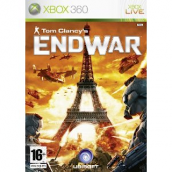 Tom Clancys EndWar Game Xbox 360