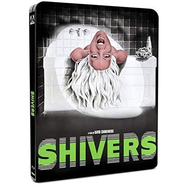 Shivers Steelbook Blu-Ray + DVD