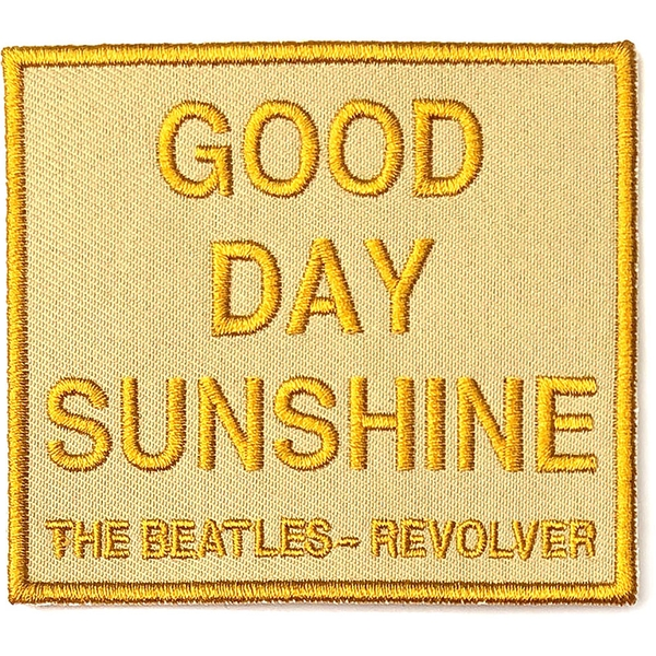 The Beatles - Good Day Sunshine  Standard Patch