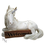 Unicorn's Welcome Figurine
