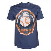 Star Wars VII The Force Awakens BB-8 Astromech Droid & Stars X-Large T-Shirt