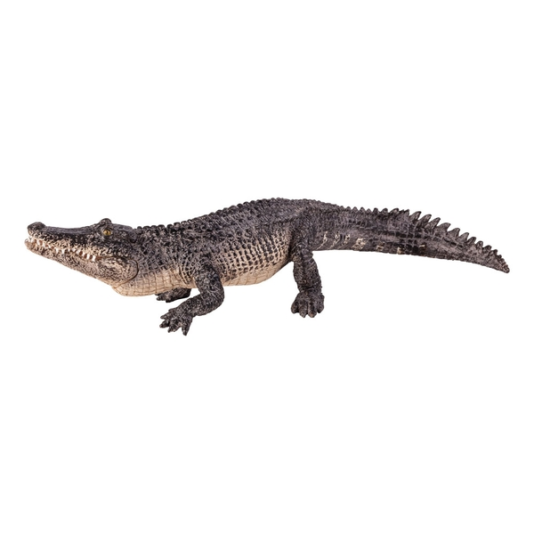 ANIMAL PLANET Wild Life & Woodland Alligator with Articulated Jaw Toy Figure