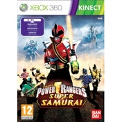 Kinect Power Rangers Super Samurai Game Xbox 360
