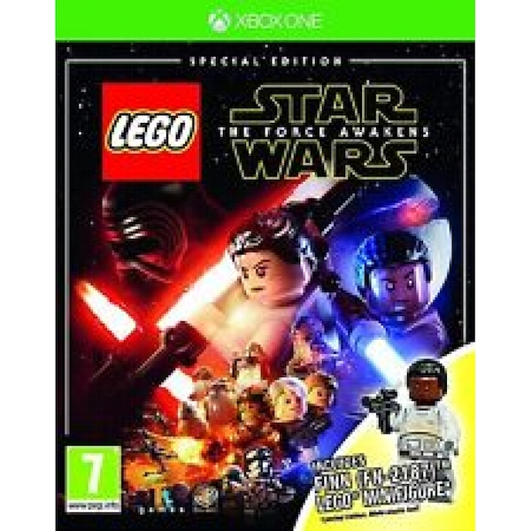 Lego Star Wars The Force Awakens Special Edition Xbox One Game (Finn Figure)