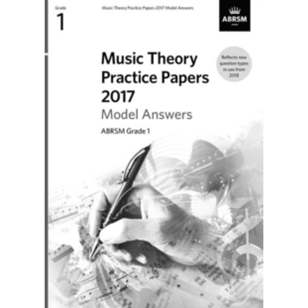 Music Theory Practice Papers 2017 Model Answers, ABRSM Grade 1