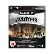 Tomb Raider HD Trilogy Game PS3