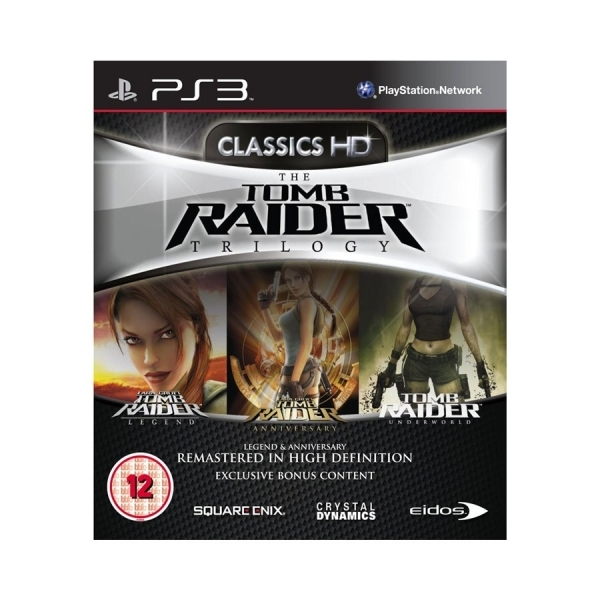 Tomb Raider HD Trilogy Game PS3 - Image 1