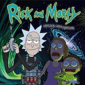 Rick and Morty Official 2019 Calendar - Square Wall Calendar Format