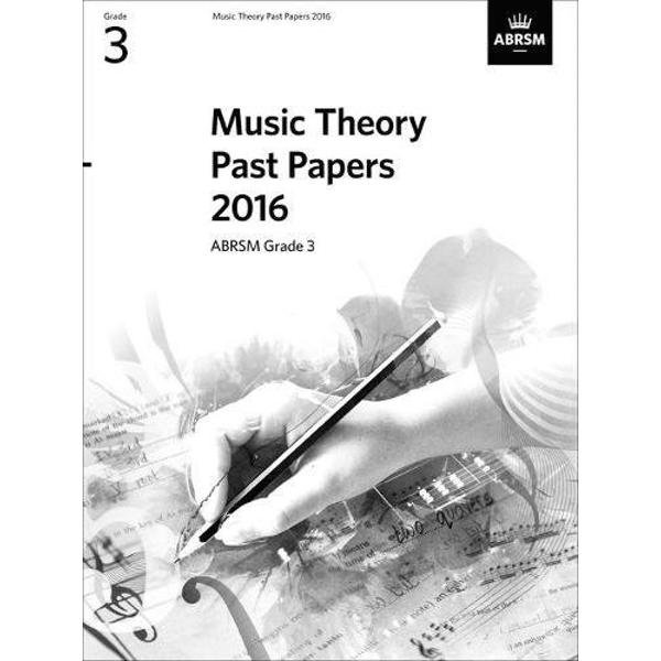Music Theory Past Papers 2016, ABRSM Grade 3  Sheet music 2017