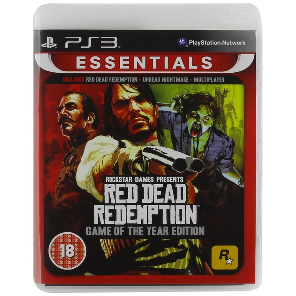 Red Dead Redemption Game Of The Year Edition (GOTY) PS3