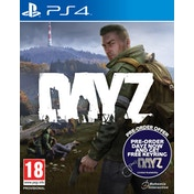 DayZ PS4 Game + Keyring