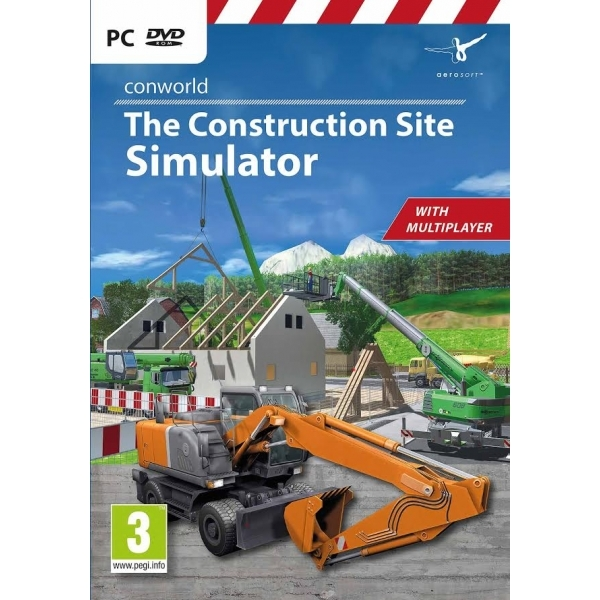 Conworld The Construction Site Simulator PC Game - Image 1