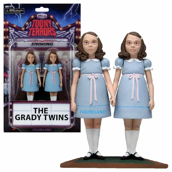 The Shining: Toony Terrors Action Figure 2 Pack: The Grady Twins