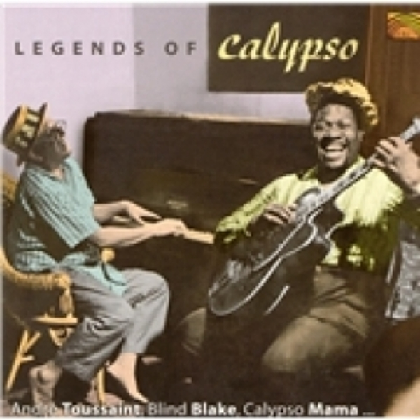Legends Of Calypso CD