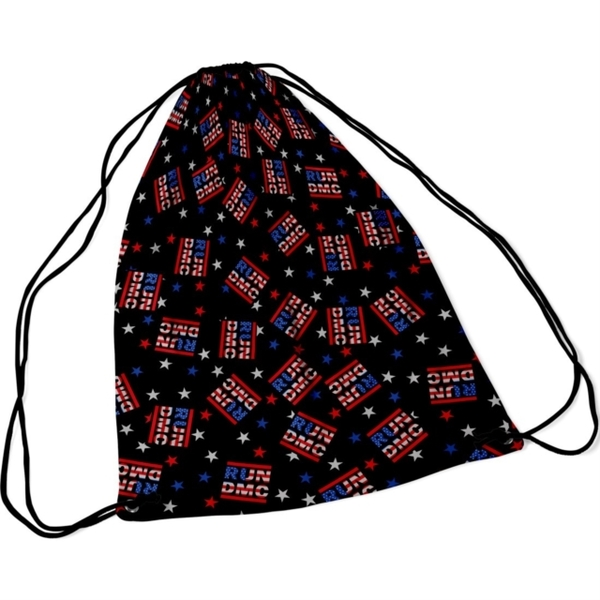Run Dmc - Run DMC Usa Logo String Bag