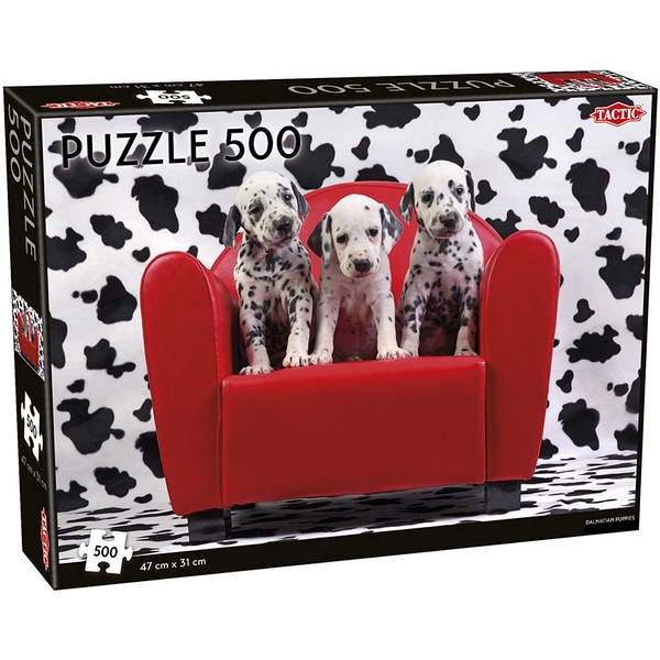 Dalmatian Puppies 500 Piece Jigsaw Puzzle