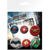 Justice League Mix Badge Pack