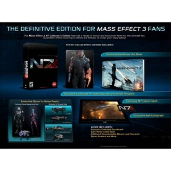 Mass Effect 3 N7 Collector's Edition Game PC - Image 2