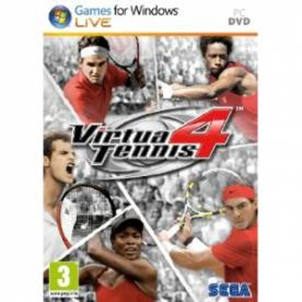 Virtua Tennis 4 Game PC