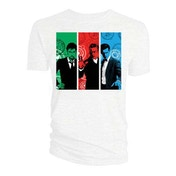 Doctor Who - Red, Green, Blue Doctors Women's Small T-Shirt - White