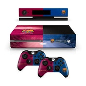 Official Barcelona FC Xbox One Console Skin and 2x Controller Skin Combo Pack