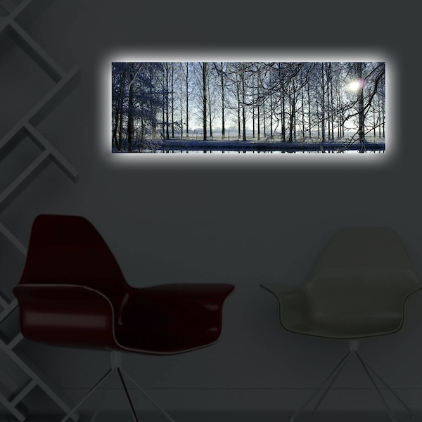 3090DACT-37 Multicolor Decorative Led Lighted Canvas Painting