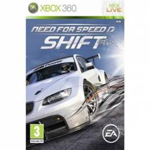 Need For Speed Shift Game Xbox 360