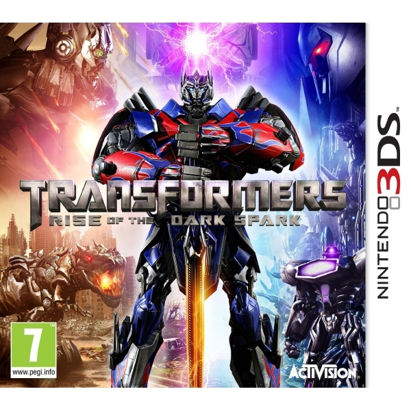 Transformers Rise Of The Dark Spark 3DS Game