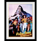 Rolling Stones Tour 76 Collector Print (30 x 40cm)