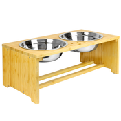 Raised Pet Bowls | For Dogs & Cats | M&W Medium