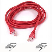 Belkin Cable patch CAT5 RJ45 snagless 3m red