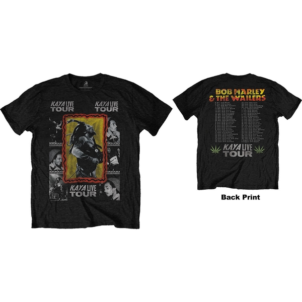 Bob Marley - Kaya Tour Men's XX-Large T-Shirt - Black