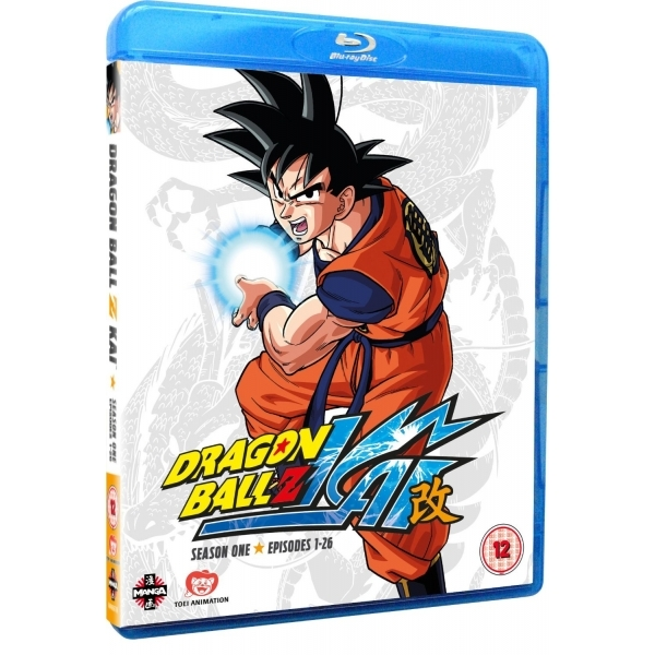 Dragon Ball Z KAI Season 1 Episodes 1-26 Blu-ray