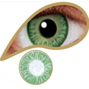 Sea Green 3 Month Natural Coloured Contact Lenses (MesmerEyez)