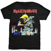 Iron Maiden New York Mens Black T Shirt: Small