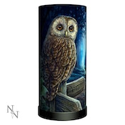 Way of the Witch Owl Lamp UK Plug