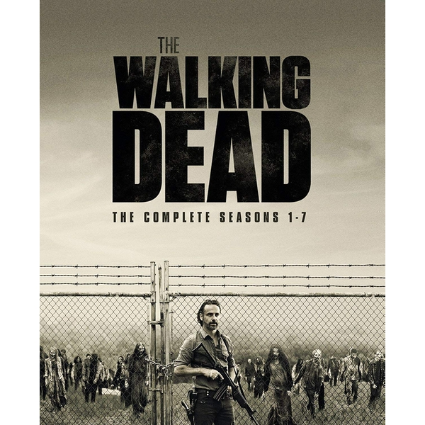 The Walking Dead Seasons 1-7 Blu-ray
