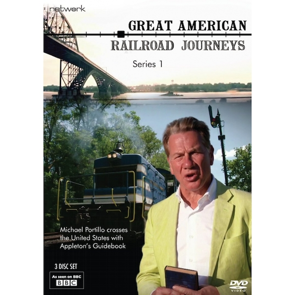 Great American Railroad Journeys: The Complete Series 1 DVD