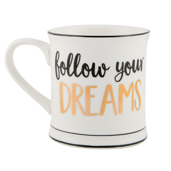Sass & Belle Follow Your Dreams Mug
