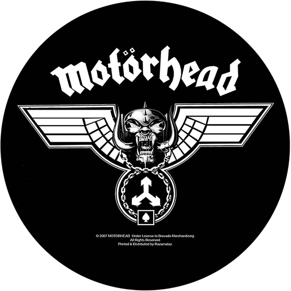 Motorhead - Hammered Back Patch