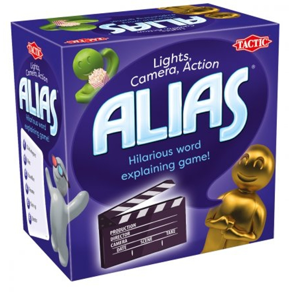 Snack Play Alias Lights, Camera, Action Edition Board Game