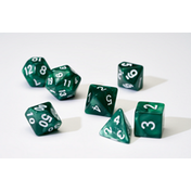 Sirius Dice - Pearl Green Poly Set