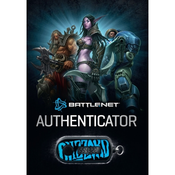 Blizzard Authenticator (Key chain code for internet access) - Image 2