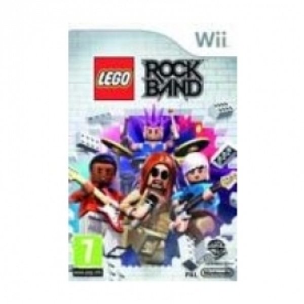 LEGO Rock Band Game Wii