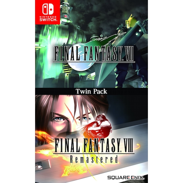 Final Fantasy VII & Final Fantasy VIII Remastered Twin Pack Nintendo Switch Game