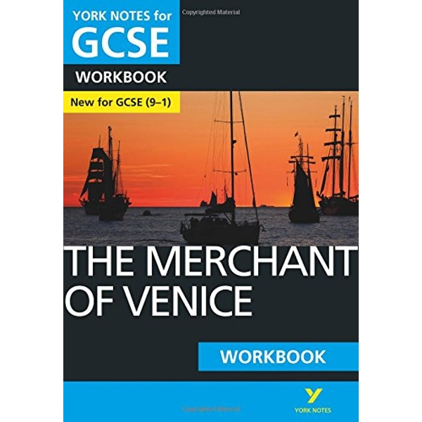 The Merchant of Venice: York Notes for GCSE (9-1) Workbook  Paperback / softback 2018