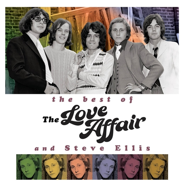 The Love Affair and Steve Ellis - The Best Of Gold Vinyl